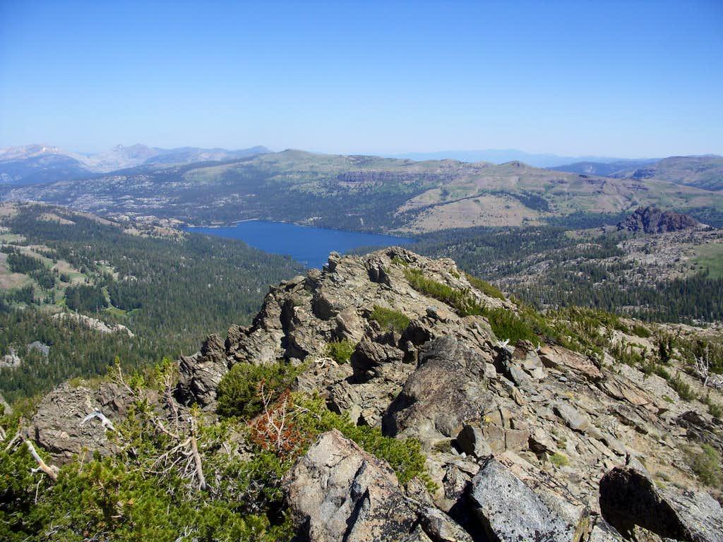 View towards Caples Lake