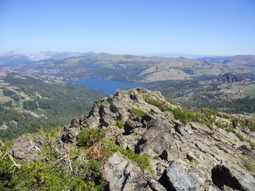 View towards Caples Lake