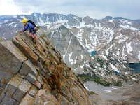 Mt. Emerson SE face knife edge