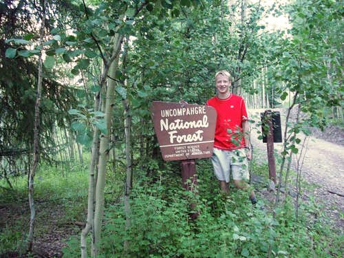 Me in the Uncompahgre Wilderness