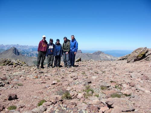 On top of Uncompahgre
