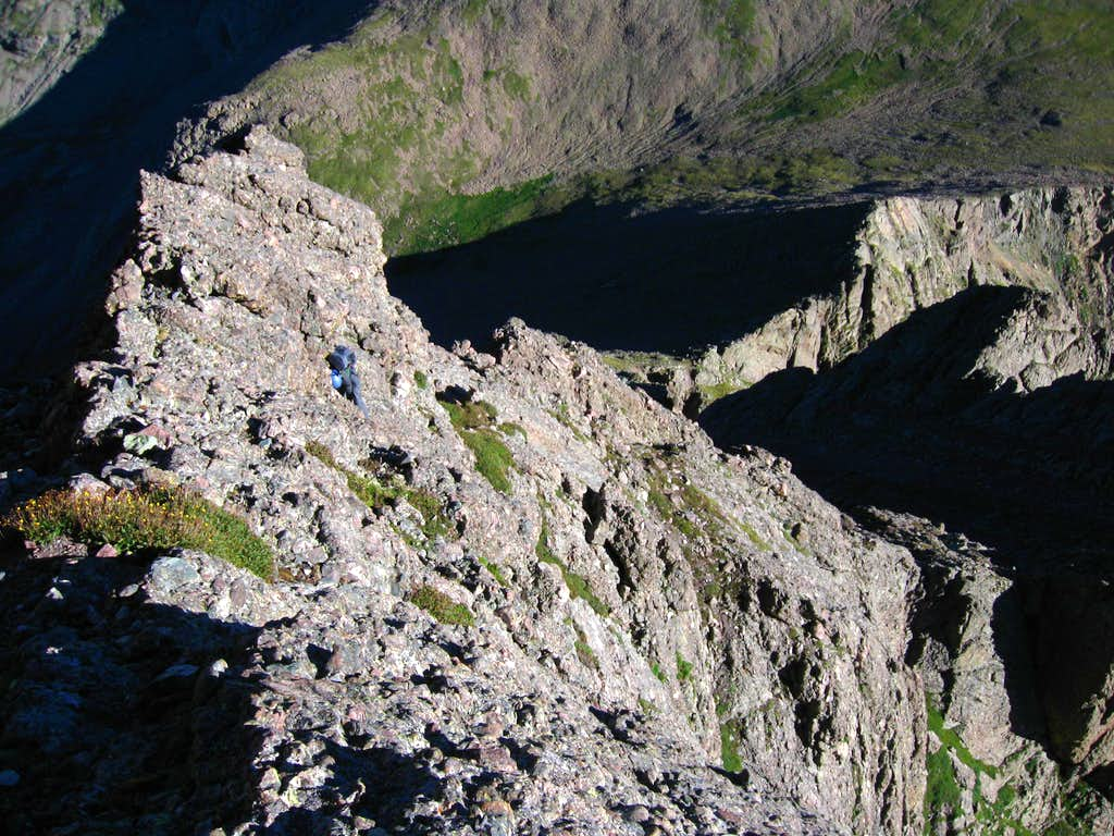 Exposure on the N Buttress