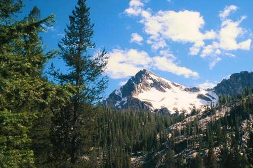 Alpine Peak from Iron Creek....