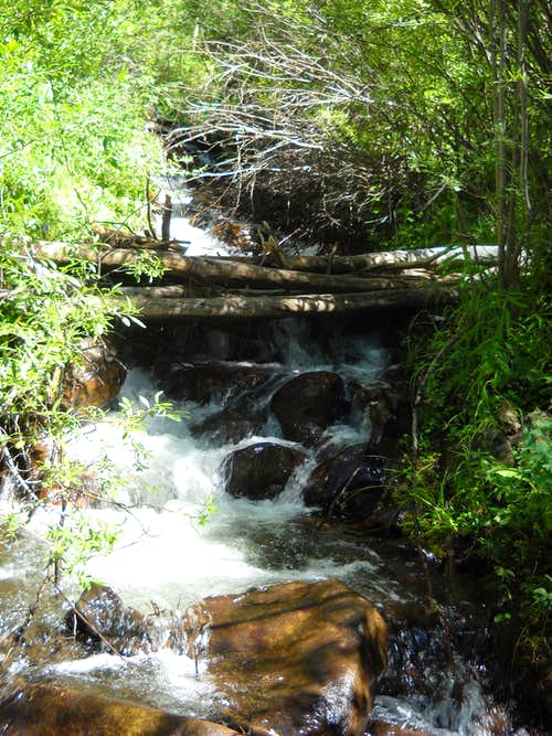 Creek along Colorado trail