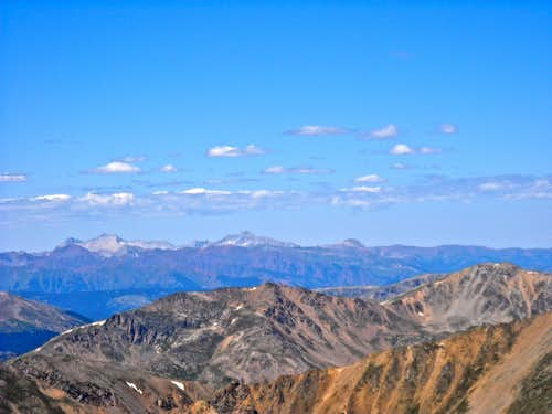 Elk Range from Mount Elbert