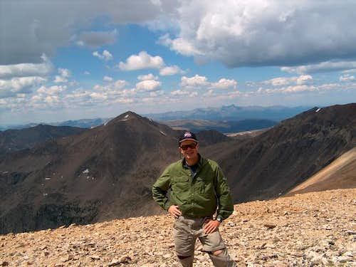 Me on the summit of Bross...