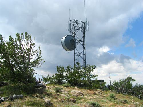 Whiskey Peak Radio Tower