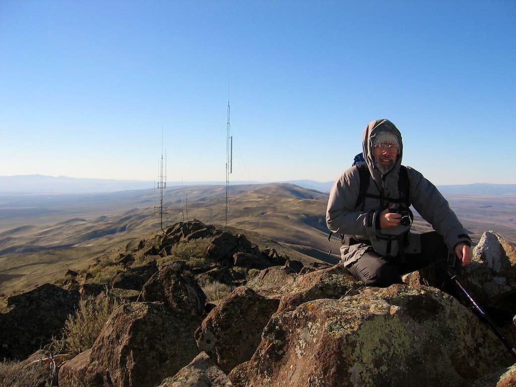 Bob on Wahatis Peak
