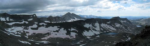 Lewis Creek Basin Panorama