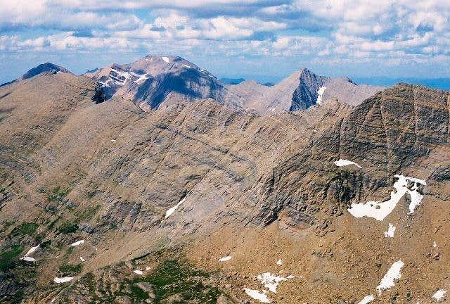 Looking north from ESM Peak