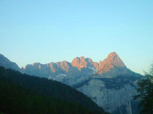 sonnenspitze from accent of...