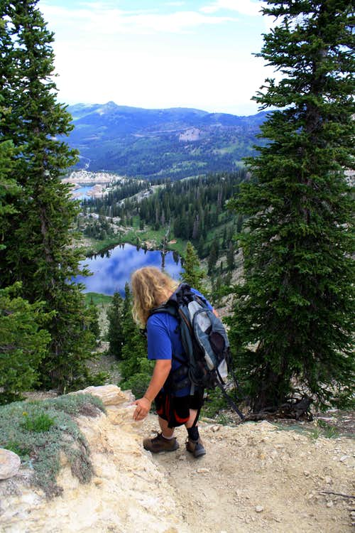 Lake Mary/Catherines Pass Trailhead
