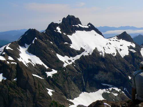 Mt Bate from Thumb Peak