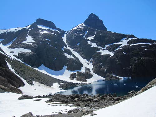 Mt Alava from Peter Lake