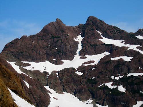 Thumb Peak from Mt Bate