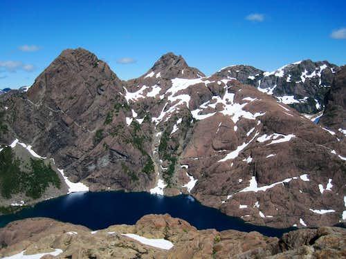 Mt Grattan, Thumb Peak & Tlupana Ridge