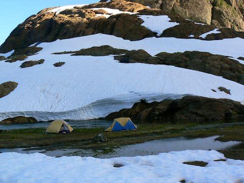 Careful Camping in The Shangri La Basin