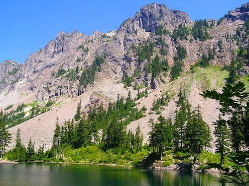 Bryant Peak overlooking Lower...