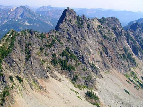 Chair Peak from Kaleetan Peak.
