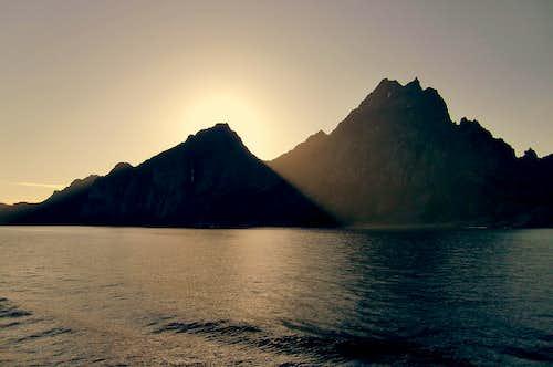 Lofoten Islands near Svolvaer