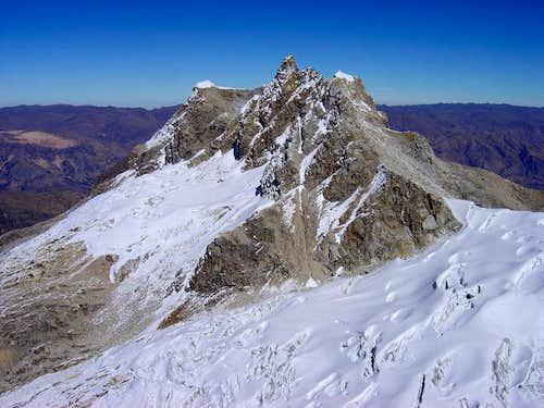 The peak Urus Central...