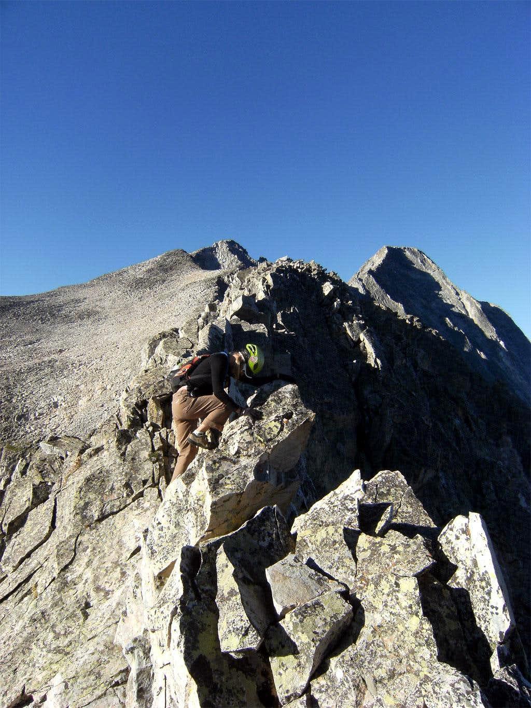 Ridge Direct Route on Capitol Peak