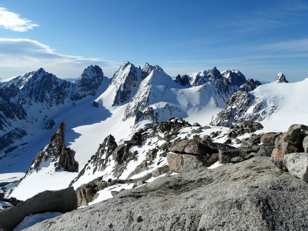 Summit View - Gannett Peak