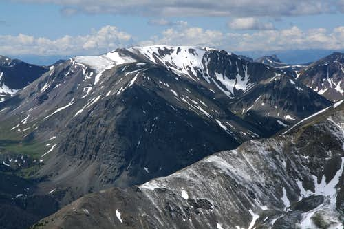 Mount Sniffel and Point 11,962