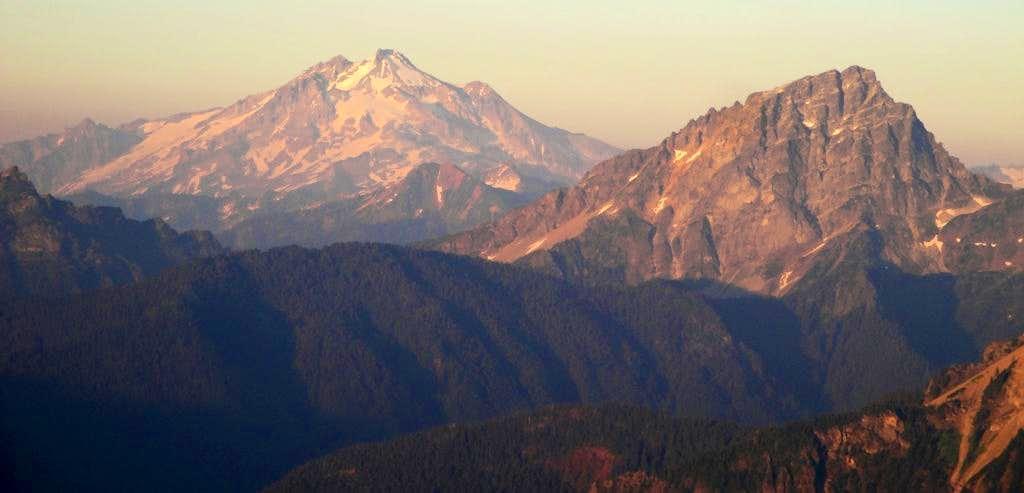 Glacier and Sloan Peaks