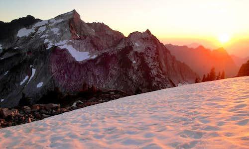 Evening Snow Field