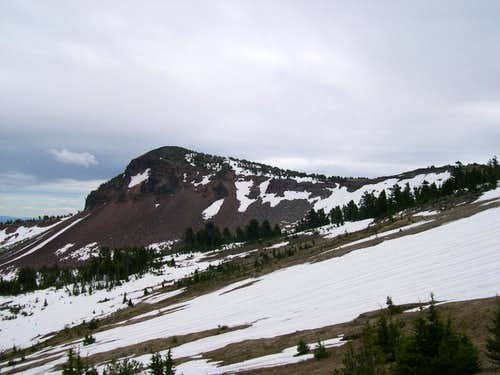 Mt. Thielsen,  E Peak