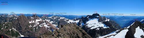 Mt Alava Summit Panorama