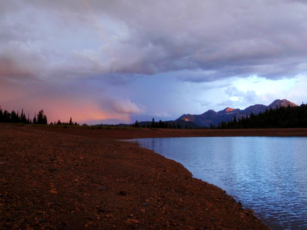 Mt. Timpanogos Silver Lake Flats