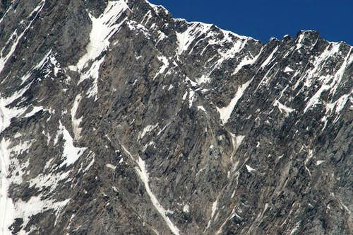 Täschhorn south face detail (2)