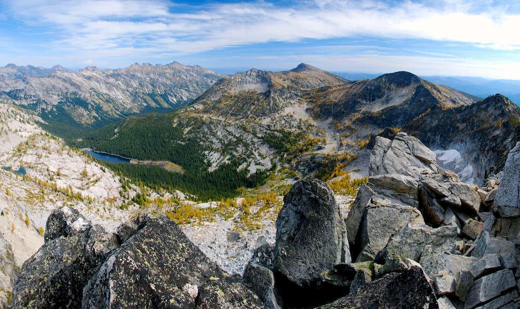 Boulder Creek Canyon and Lake