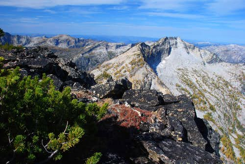 Bare Peak's Middle and West Summits