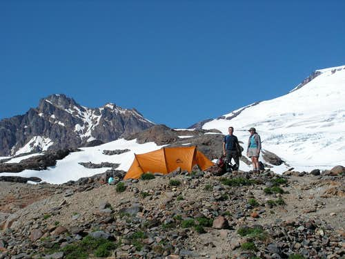 Base Camp at 5600 feet
