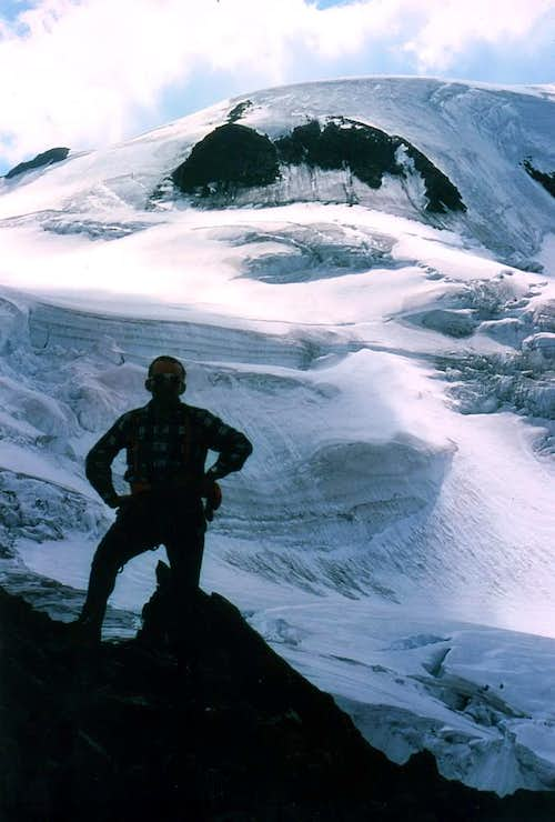 MOUNT VELAN Integral descent through NE Ridge 1976