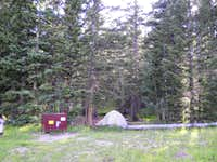 Camping near Medano Lake Trailhead