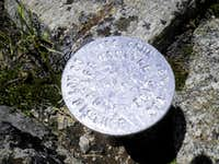 UN 13135  Medano Peak  summit marker