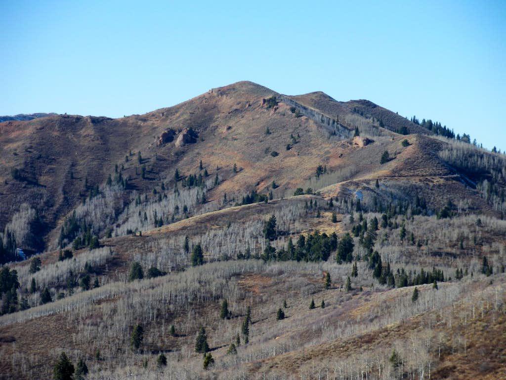 Swallow Rocks Peak