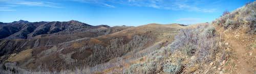Big Mtn. to Swallow Rocks