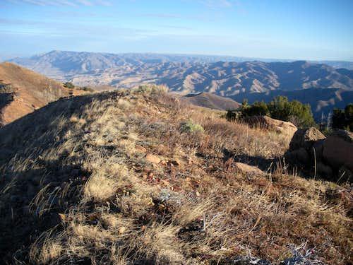 View NE from Swallow Rocks
