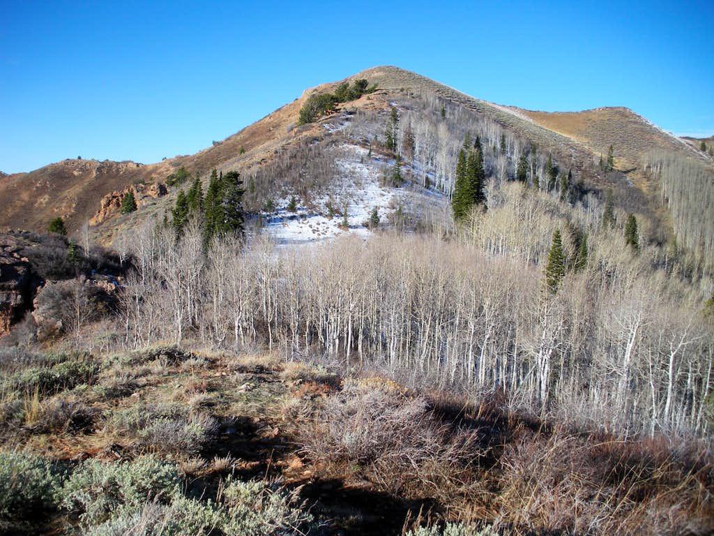 East Ridge of Swallow Rocks