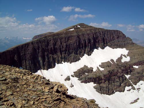 Piegan Mountain from Piegan\'s false summit