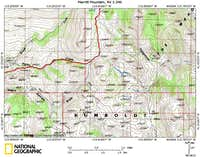 Merritt Mountain access route (3/4)