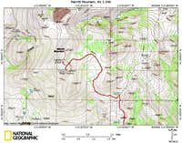 Merritt Mountain access route (4/4)