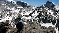 Eastern Pinnacle of Schleister Peak