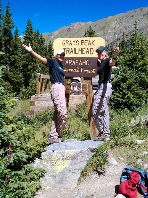 Grays Peak Trailhead