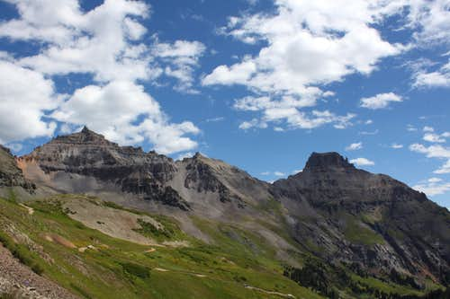 View from Yankee Boy Basin
